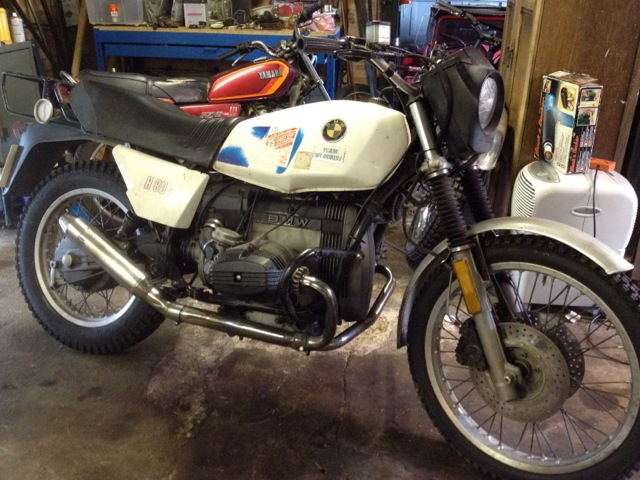 Jim Isherwoods 1981 R80G/S as purchased